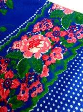 画像10: ヨーロッパ古着 70'sレトロポップGirly!!! Pink Flower×水玉Dot柄が可愛すぎる〜!!袖先フリル袖★ふんわり可愛く決まる!!ヨーロピアンヴィンテージドレス (10)