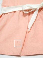 画像8: ☆ ヨーロッパ古着 フランス買い付け vintageキッズ セーラー襟が可愛いvintageワンピースsize100cm kids&baby ☆ (8)