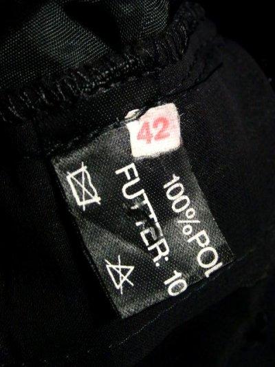 画像3: ☆ ヨーロッパ古着 レイヤードデザインが素晴らしい!!キラリと光るラメ入り装飾★大人レトロクラシカルな上質ヴィンテージスカート Black ☆