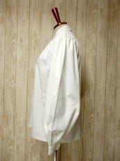 画像6: ワンポイント刺繍 フォークロア模様クロスステッチ ホワイト ディアンドル チロルブラウス ドイツ民族衣装 舞台 演奏会 フォークダンス オクトーバーフェスト【6160】 (6)