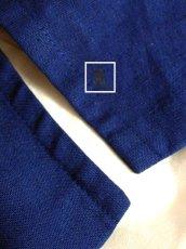 画像14: アヒルプリントパッチ×フラワー・昆虫刺繍×ホワイトコットンレース装飾 アヒル・ハート型ボタン Navy チロルスカート ドイツ民族衣装 舞台 演劇 演奏会 フォークダンス オクトーバーフェスト 【6164】 (14)