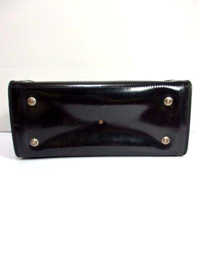 画像3: クラシカル模様織り ブラック レッド 鍵付 大きめサイズ 重厚感 レディース レトロ ハンド 鞄 バッグ【6186】
