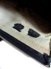 画像11: クラシカル模様織り ブラック レッド 鍵付 大きめサイズ 重厚感 レディース レトロ ハンド 鞄 バッグ【6186】 (11)