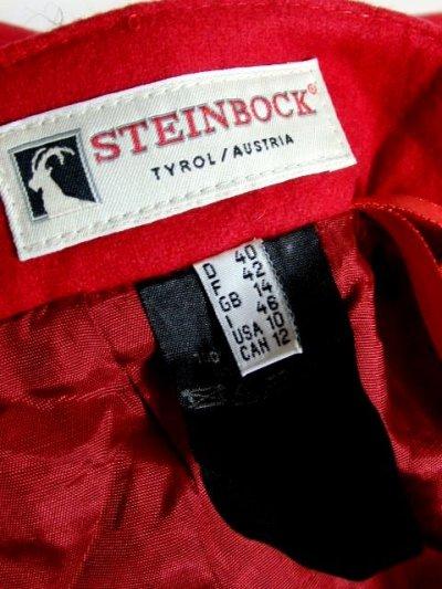画像3: ハッと目を引くRed Collar ウッド調ボタン×ハートボタン装飾 シンプルながらもこだわりあり チロルスカート ドイツ民族衣装 舞台 演劇 演奏会 フォークダンス オクトーバーフェスト 【6275】