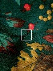 画像11: 木の実柄 木の葉柄 グリーン クラシカル ウエストゴム ディアンドル チロルスカート ドイツ民族衣装 舞台 演劇 演奏会 フォークダンス オクトーバーフェスト 【Y6273】 (11)
