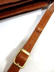 画像6: レザー ブラウン 色合いカタチが可愛い レディース レトロ ショルダー 鞄 バッグ【6279】 (6)