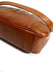 画像10: レザー ブラウン 色合いカタチが可愛い レディース レトロ ショルダー 鞄 バッグ【6279】 (10)