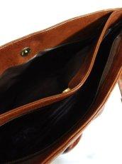 画像8: レザー ブラウン 色合いカタチが可愛い レディース レトロ ショルダー 鞄 バッグ【6279】 (8)