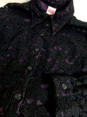 画像8: ヨーロッパ古着 上品フラワーレースが素晴らしい♪ 大人クラシカルなヴィンテージブラウス (8)