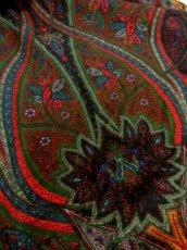 画像9: フォークロアプリント ウエストゴム ディアンドル チロルスカート ドイツ民族衣装 舞台 演劇 演奏会 フォークダンス オクトーバーフェスト 【Y6318】 (9)