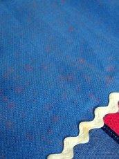 画像9: ☆ ヨーロッパ古着 ストライプ×小花柄が可愛らしい★ジグザグテープ×レース装飾!!大人レトロガーリーなヴィンテージスカート ☆ (9)