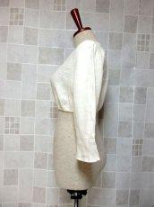 画像7: ショート丈 オフホワイト シンプルでスッキリとした雰囲気 ディアンドル ヴィンテージブラウス ドイツ民族衣装 舞台 演奏会 フォークダンス オクトーバーフェスト【6373】 (7)