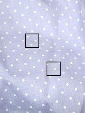画像8: ☆ ヨーロッパ古着 淡いPurple×White Dot★レース装飾が可愛い♪ポケット×リボン結び★ふんわりヴィンテージサーキュラースカート ☆ (8)