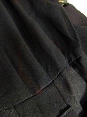 画像18: フロントレイヤードデザイン ベルトセット 個性的 半袖 レトロ USA古着 ヴィンテージオールインワン【6496】 (18)