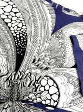 画像8: 大胆な花柄 70's〜80's レトロ 大人可愛い 半袖 昭和レトロ 国産古着 ヴィンテージトップス【6498】 (8)