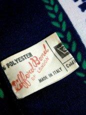 画像10: レトロアンティーク ヴィンテージスカーフ イタリア製 花柄 スクエア【6528】 (10)
