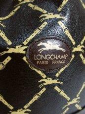 画像12: 巾着型 フランス製 レザー ダークブラウン レディース ヴィンテージ ショルダー 鞄 バッグ【6547】 (12)