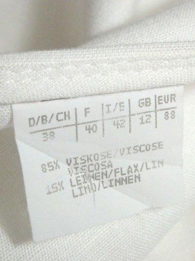 画像3: リネン ホワイト 無地 袖あり 前開き クラシカル ディアンドル チロルワンピース ドイツ民族衣装 舞台 演奏会 フォークダンス オクトーバーフェスト 【Y6575】