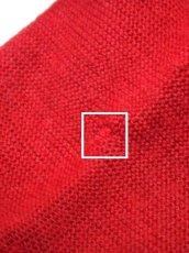 画像11: 落ち着いたレッド ウッド調ボタン フォークロア レトロ ヨーロッパ古着 チロルニットカーディガン【6618】 (11)