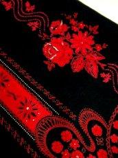 画像9: 花柄 ストライプ ドット ブラック レッド レース ディアンドル チロルスカート ドイツ民族衣装 舞台 演劇 演奏会 フォークダンス オクトーバーフェスト 【6627】 (9)