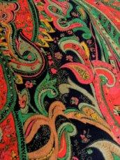 画像11: 70年代 花柄 長袖 昭和レトロ 国産古着 レトロワンピース  【6644】 (11)