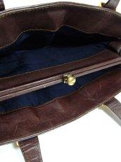画像6: ポケットたくさん 機能性抜群 レディース レトロ ハンド 鞄 バッグ【6649】 (6)