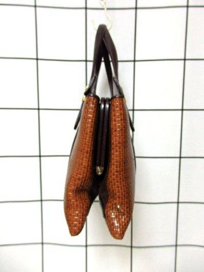 画像2: ポケットたくさん 機能性抜群 レディース レトロ ハンド 鞄 バッグ【6649】
