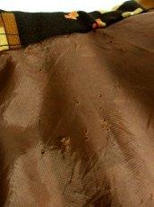 画像17: 70年代 スカーフ柄 マルチカラー レトロ レディース 長袖 昭和レトロ 国産古着 レトロワンピース 【6701】 (17)