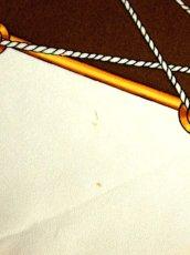 画像10: レトロアンティーク ヴィンテージスカーフ【6879】 (10)