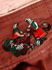 画像10: 民族衣装刺繍 ディアンドル チロルスカート ドイツ民族衣装 舞台 演劇 演奏会 フォークダンス オクトーバーフェスト 【6900】 (10)