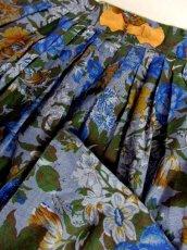 画像8: 花柄 リネン ディアンドル チロルスカート ドイツ民族衣装 舞台 演劇 演奏会 フォークダンス オクトーバーフェスト【6939】 (8)