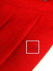 画像20: リネン 花柄 レッド ホワイト 前開き 花型ボタン 切り替えし ノースリーブ フォークロア ディアンドル チロルワンピース ドイツ民族衣装 舞台 演奏会 フォークダンス オクトーバーフェスト【6950】 (20)