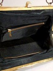 画像14: ビーズ ブラック 結婚式 二次会 パーティースタイル 気品溢れる逸品 レディース レトロアンティーク 鞄 バッグ【6991】 (14)