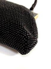 画像13: ビーズ ブラック 結婚式 二次会 パーティースタイル 気品溢れる逸品 レディース レトロアンティーク 鞄 バッグ【6991】 (13)