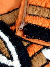 画像14: フォークロア 刺繍 ビーズ 切り替えし 長袖 レトロ ヨーロッパ古着 ヴィンテージワンピース【7067】 (14)