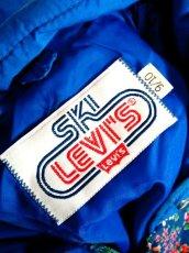 画像16: Levi's リーバイス ブルー 小花柄切り替し レトロ USA古着 ヴィンテージアウター【1893】 (16)