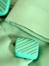 画像12: ペプラムデザイン アンティークフラワーレース装飾 大きな襟 レトロ ヨーロッパ古着 ヴィンテージジャケット【2230】 (12)