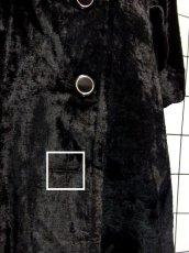 画像18: ベルベット 70's ブラック 黒 クラシカル 昭和レトロ 国産古着 ヴィンテージコート【3939】 (18)