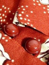 画像14: 薔薇柄 大きな襟 レトロ ヨーロッパ古着 ヴィンテージジャケット【2586】 (14)