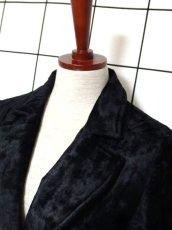 画像9: ベルベット 70's ブラック 黒 クラシカル 昭和レトロ 国産古着 ヴィンテージコート【3939】 (9)