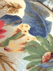 画像9: ボタニカル柄 落ち着いた配色 TALONジッパー レトロ USA古着 ヴィンテージスカート【7208】 (9)