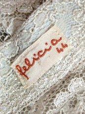 画像15: 総レース ドイツ製 羽織り レトロ ヨーロッパ古着 ヴィンテージカーディガン【7298】 (15)