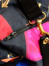 画像11: 80's アクセサリー柄 バッグ柄 ブラック カラーリングが素敵 レディース レトロ ヴィンテージ 鞄 バッグ【7549】 (11)