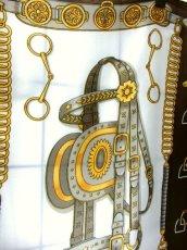 画像5: レトロアンティーク ヴィンテージスカーフ ヨーロッパ【7736】 (5)