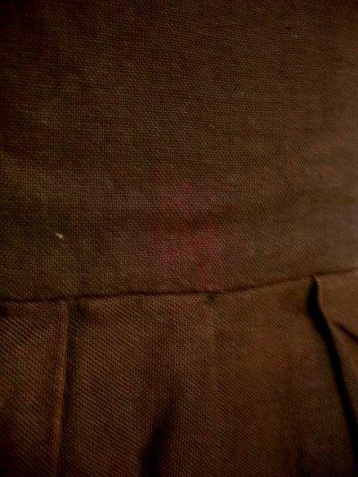 画像3: 刺繍だけでも主役級の逸品 お花柄刺繍 ブラウン ディアンドル チロルワンピース ドイツ民族衣装 舞台 演奏会 フォークダンス オクトーバーフェスト 【1310】