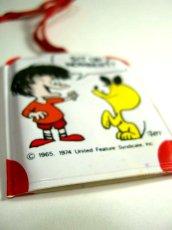 画像1: ☆ 60'sレトロミニアドレス帳×キーホルダー 男の子×犬 デットストック ☆ (1)