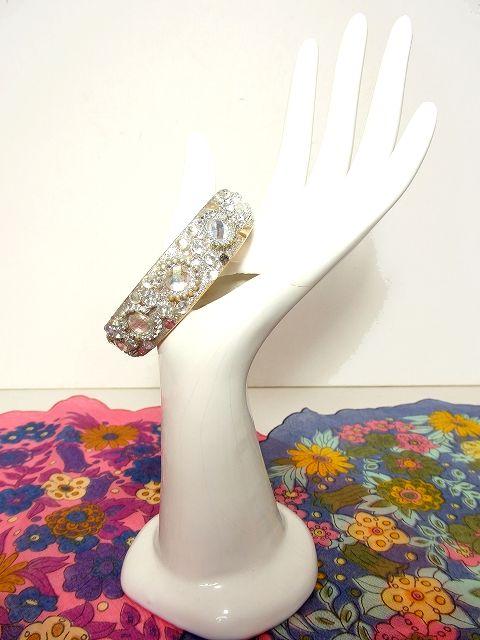 画像1: ☆  European Bracelet3♪ストーン装飾・バングル 手元のアクセントにおすすめ ☆ (1)