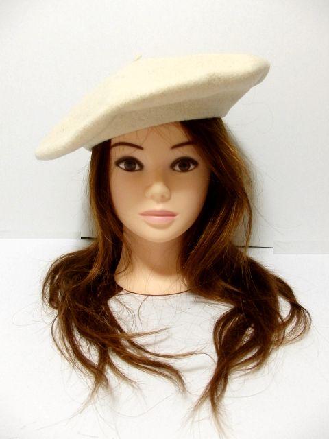 画像1: ☆ ふんわり可愛いレトロアンティークなヨーロッパベレー帽 2 ☆ (1)