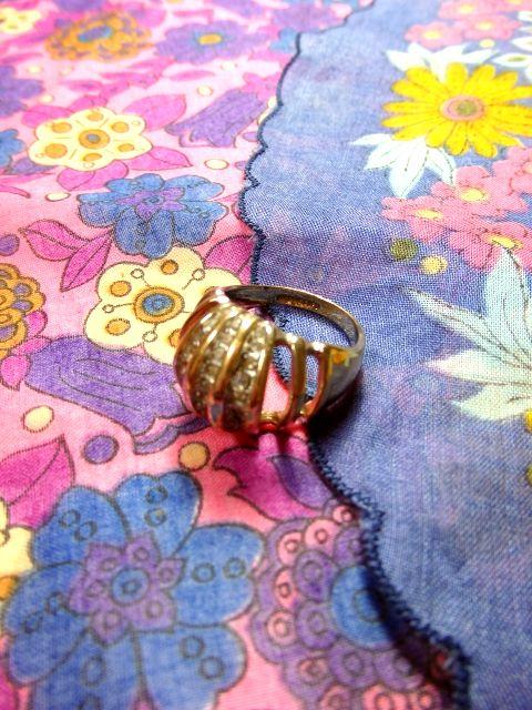 画像1: ☆ レトロアンティークリング 指輪 5☆ (1)