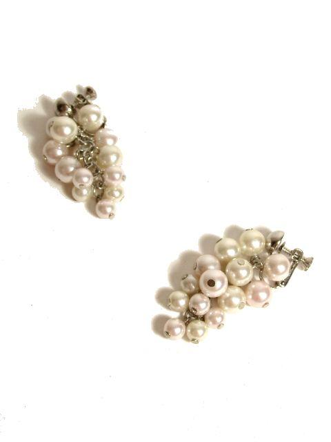 画像1: ☆ アンティーク vintageイヤリング  151 pearl ☆ (1)